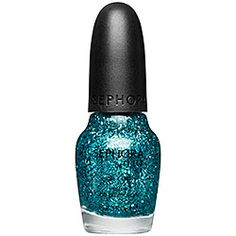 SEPHORA by OPI Jewelry Top Coats - Jewelry Top Coats Not Your Average Turquoise  #sephora