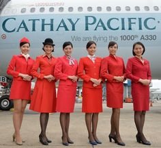 You ever wonder which airline has the most beautiful flight attendants or air hostess in the world? Here we select 10 airlines with photos of their stewardess. When you travel, you can compare and select the ones you enjoy. Cabin Crew Recruitment, Airline Cabin Crew, Best Airlines, Pacific Airlines, Airline Uniforms, Cathay Pacific, Attendance, Flight Attendant, Traveling By Yourself
