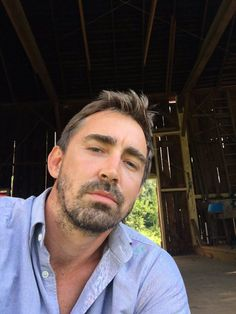 What's going on? I'm cleaning my barn. And... #haltandcatchfire Season 3. 2hr premiere. Aug 23. Exactly one week.}