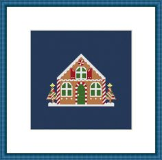 Cross Stitch PDF Pattern/ Counted Cross Stitch by FifiGraceDesigns