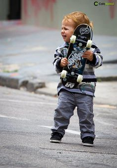 I hesitate to say this is going to be my kid, but... In all reality, this will probably be my kid.