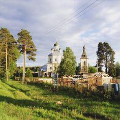 Тверская обл., Россия, недалеко от озера Селигер #Tver #Russia