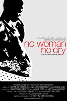 just saw the story of this documentary on Katie Couric's show - what a wonderful organization - no woman no cry • 2010