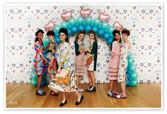 Tata Naka  - The Tata Naka A/W 2013 collection is showcasing youthful and vintage styles in a classic educational setting, bringing back nostalgic memories of w...