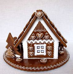 Gingerbread House Parties, Christmas Gingerbread House, Gingerbread Man, Christmas Cookies, Christmas Time Is Here, Christmas Holidays, Christmas Decorations, Cookie House, Ginger Cookies