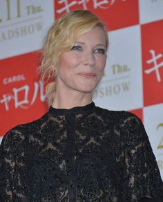 Cate Blanchett looked beautiful and dazzling in a sparkling black dress, which had sheer inlay to tease a hint of her flawless skin and waist clinching satin dress to accentuate her figure. Cate was attending screening of Carol held at Roppongi Hills in Tokyo, Japan on January 22, 2016....
