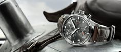 I was blown away when I first saw this watch. I'm currently trying to save for it. What a beauty eh? Spitfire Chronograph (ref. IW587802)