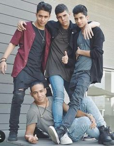 Joel and Zabdiel and Erick and Richard I Love You All, Love Of My Life, My Love, Cnco Band, Memes Cnco, Prince Royce, Disney Music, Latin Music, Friend Pictures
