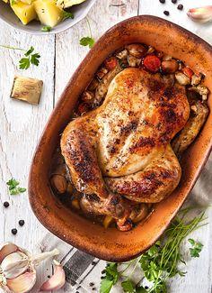 Kurča pečené na koreňovej zelenine | MAGGI. Inšpirácia pre vaše každodenné varenie.