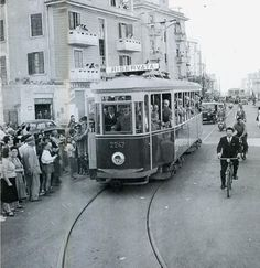 Centocelle-1956. Prolungamento della linea 12 a piazza dei Gerani