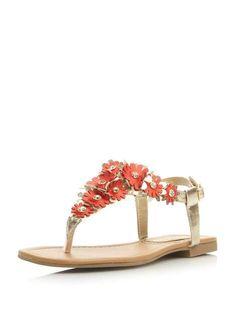Head Over Heels By Dune Nolina Flower Detail Sandal - Dorothy Perkins Europe