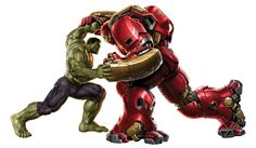 hulkbuster and hulk - Google Search