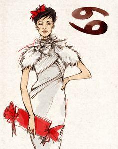 "Elle Russia,""Christmas gifts"" project, dec. 2009 by Alena Lavdovskaya, via Behance"