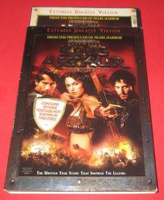 King Arthur (DVD, 2004 Widescreen) Extended Version Clive Owen, Keira Knightley #kingarthur #action #cliveowen #keiraknightley #movies http://stores.ebay.com/vinylrockretro/