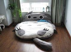 Dormir en los brazos de Totoro...