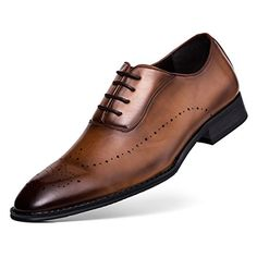 ff17f6879 Oxford Business Dress Shoes for Men Lace-up