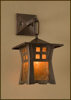Craftsman Copper - Riverside Lantern Sconce - for new porch ALL FOR ONLY $800 EACH