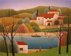 Resultado de imagen para pintura country paisajes