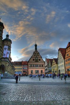 Rothenberg, Germany -my choir sang right on those steps on the left.  #Beautiful #Places #Photography