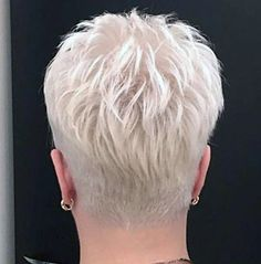 # Hairstyles 2018 Gray Wigs African Americans Best Wigs For Caucasian Hair Silver Gray Hair Dye Super Short Hair, Short Thin Hair, Short Grey Hair, Short Hair Cuts For Women, Short Hair Styles, Short Blonde, Short Spiky Hairstyles, Short Hairstyles For Women, Hairstyles 2018
