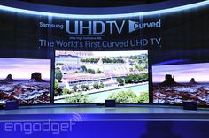 Samsung's new Ultra HD TVs arrive soon with (or without) curves for $2,500 and up