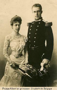 King Albert I and Queen Elisabeth of Belgium.