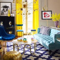 """Build a timelessly chic foundation, then accessorize with abandon."" This is the philosophy of Jonathan Adler, and clearly one that we are on board with!"