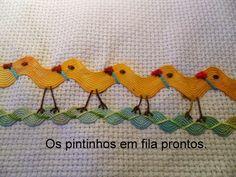 creditos: flautamagicasartesanato   Flor de sianinha     creditos: artecom...
