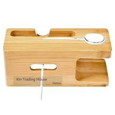 Online Shop Bamboo Wood Charger Station for Apple Watch Charging Dock Station Charger Stand Holder for iPhone 6 Dock Stand Cradle Holder Microsoft, Wood Chargers, Apple Fitness, Charger Holder, Phone Holder, Iphone Charger, Iphone 5s, Docking Station, Etsy