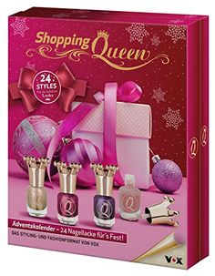 Shopping Queen Nail Adventskalender 2017, 1er Pack (1 x 24 Stück)