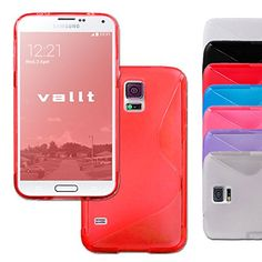 Samsung Galaxy S5 Case - Red TPU Luxury Designer Vallt Case for Everyone From Boys and Girls to Women and Men - Latest Stylish Design with Soft Silicone - Perfect Custom Fit Case for Your Awesome S 5 - Protect Your Investment - Lifetime Guarantee Vallt http://www.amazon.com/dp/B00PTM5RSE/ref=cm_sw_r_pi_dp_F2fRub04ZJB8V