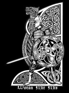 Norse Pagan, Viking Symbols, Viking Art, Norse Mythology, Norse Tattoo, Celtic Tattoos, Viking Tattoos, Viking Designs, Celtic Designs