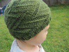 Free Knitting Pattern - Hats: Zaggity Hat
