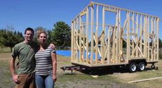 A YouTube series of construction videos documenting a Tiny House Build