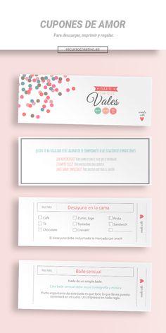 accfa0eb3 Cupones del amor imprimibles gratis ¡Elegir el regalo perfecto para su  pareja puede ser un