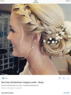 Great Hairstyles, Wedding Hairstyles, Rock Your Locks, Bridal Hair Inspiration, My Perfect Wedding, Hair Skin Nails, Bridesmaid Hair, Hair Day, Gorgeous Hair