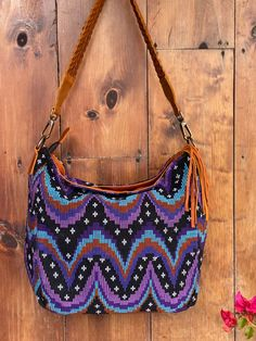 Blue moon Handwoven Boho Vintage Textiles, Blue Moon, Textile Art, Hand Weaving, Shoulder Bag, Boho, Fashion, Moda, Hand Knitting
