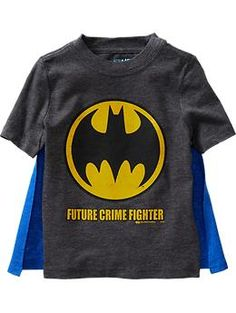 DC Comics™ Shield-Graphic Cape Tees for Baby | Old Navy
