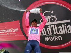 #Giro Nairo Quintana líder absoluto de la corsa rosa #orgullocolombiano