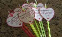 Valentines' Day! I made these last year for my class.  Not sure who liked them more - the kids or the parents?