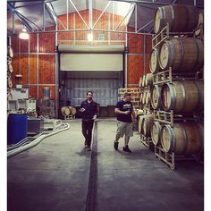 Barrels and boys #adwinery #aguadulcewinery #wine #vino #wein #barrels #wineslumber #loveit -