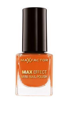 Product Features Mini nail polish Ideal on-the-go Long lasting and chip resistant formula Max Factor, Perfume Bottles, Nail Polish, Orange, Nails, Mini, Finger Nails, Ongles, Nail