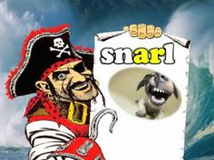 """Pirates Say AR! - song for kids about the """"ar"""" sound (This link will lead you to the Harry Kindergarten video channel. There are around 200 videos) Milsaps L Beitler Jewell Ellis Doherty Sweeney Sweeney Lanham Cronin Hauck Phonics Videos, Phonics Song, Phonics Words, Phonics Reading, Kids Reading, Teaching Reading, Learning, First Grade Words, First Grade Phonics"""