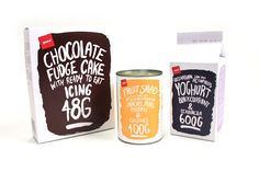 Pam's Budget Range on Packaging Design Served Chip Packaging, Baking Packaging, Food Packaging Design, Print Packaging, Packaging Design Inspiration, Candy Packaging, Chocolate Fudge Cake, Chocolate Packaging, Cat Food Brands