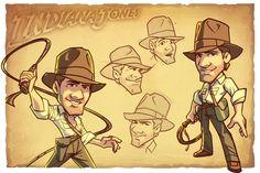 Indiana Jones concept art