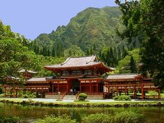 Visit the Byodo-In Temple on Oahu where LOST was filmed.: Brief History of the Temple