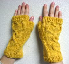 how to make a figerless gloves out of a sweater | Learn how to make your own gloves from a tutorial HERE
