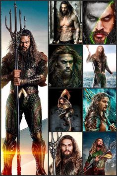 Aquaman: King of Atlantis - actor Jason Momoa Heroes Dc Comics, Fun Comics, Marvel Vs, Marvel Dc Comics, Atlantis, Aquaman 2018, Jason Momoa Aquaman, Comic Manga, Star Wars