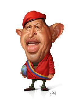 * Hugo Chavez *
