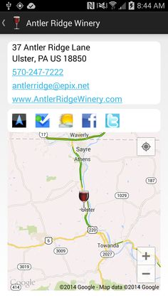 Antler Ridge Winery  Ulster, PA ---- best winery ever!!!!